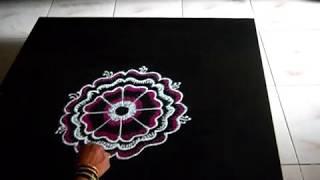 Rangoli for festivals - Varalakshmi vratham 2014