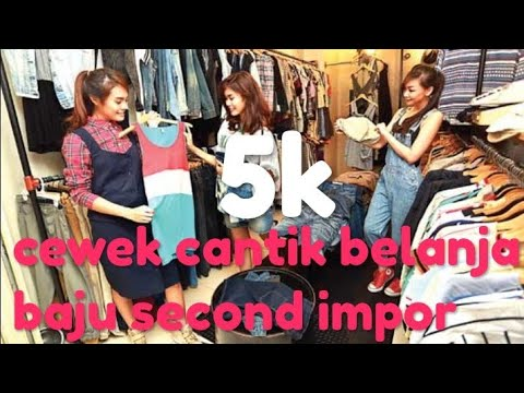 Cewek Cantik Beli Baju Second Impor Pasar Senen Blok 3 Lantai 2