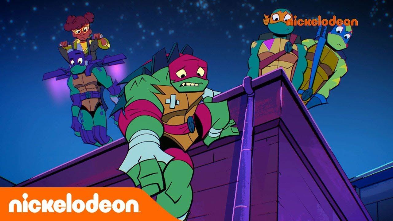 Le Destin Des Tortues Ninja Une Drole De Bestiole Nickelodeon