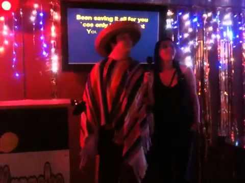 Blackpool 2010 Martyn karaoke