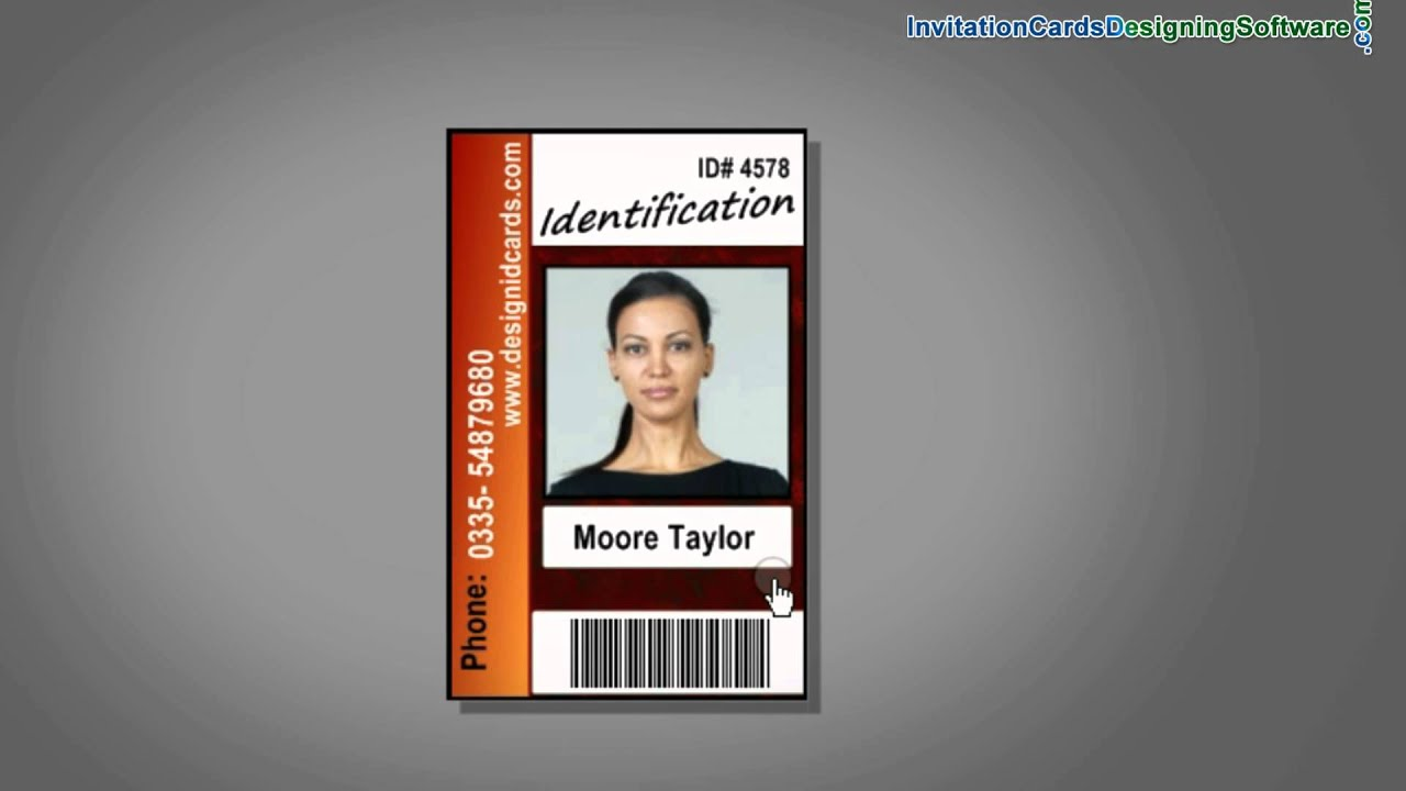 easy to design and print id cards for corporate sector using drpu