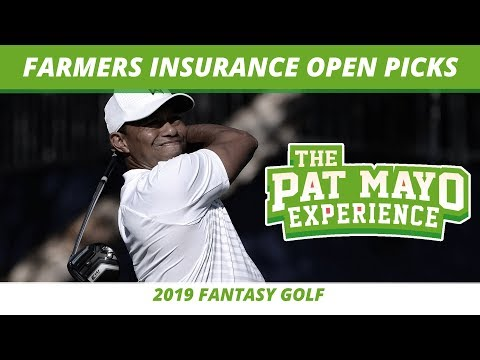 Fantasy Golf Picks 2019 Farmers Insurance Open Picks One And Done