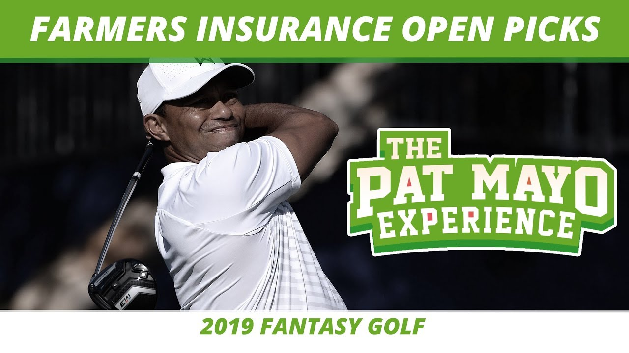 Fantasy Golf Picks 2019 Farmers Insurance Open Picks One And Done Tiger Woods Return