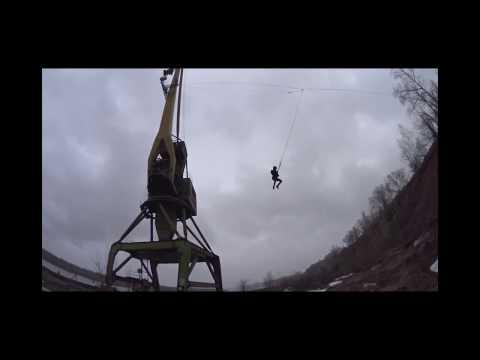 RJK. Прыгаем с портового крана в Котельниче 2017