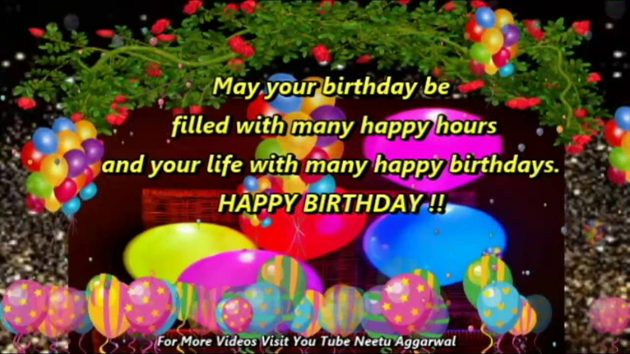 Happy Birthday WishesGreetingsQuotesSmsSayingECard – Birthday Wish Greeting Images
