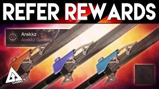 Destiny Refer A Friend Rewards - All Swords, New Emotes & More!