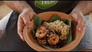 The Sri Lanka Diaries: Patrick Cooks Our Prawn Stir Fry Recipe Next to Sigiriya Rock