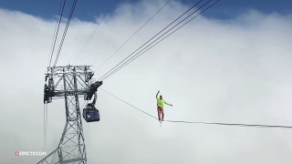 Over The Clouds | Next Level Highlining