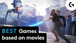 Best games based on movies