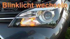 Toyota Yaris Blinkleuchte Blinker wechseln ersetzen Blinklicht austauschen