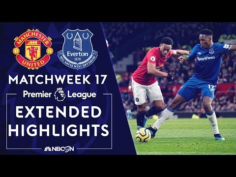 Manchester United v. Everton | PREMIER LEAGUE HIGHLIGHTS | 12/15/19 | NBC Sports