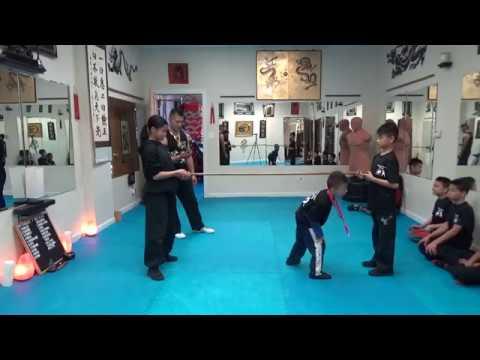 Kung Fu Kids - Self Defense Ducking Head Movement Challenge