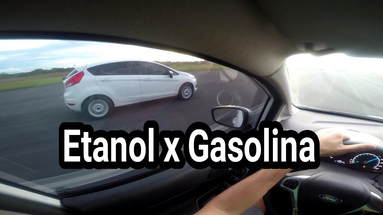 NEW FIESTA 1.6 SE ETANOL X GASOLINA - YouTube