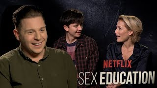 Sex Education's Gillian & Asa: 'I could be a therapist' for real