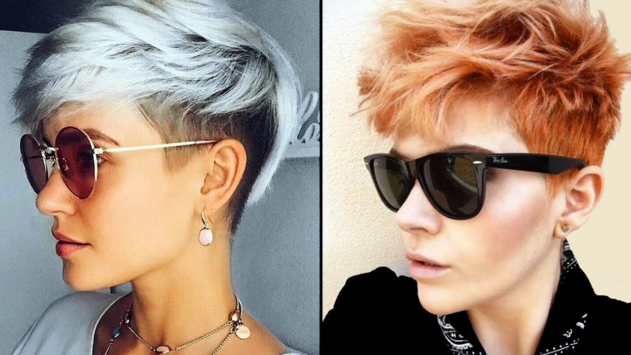Women Hairstyles: 2018 SHORT HAIRCUTS FOR GIRLS
