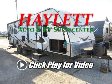 HaylettRV - Jayco 27DSRL White Hawk Barely Used Ultralite Rear Living Couple's Camper