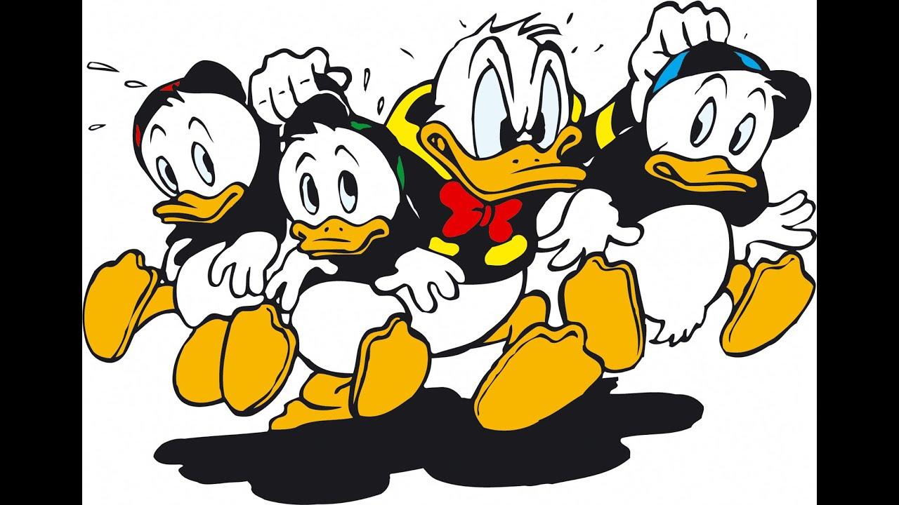 D Duck Cartoon Donald Duck Car...