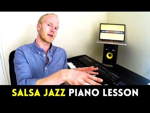 SALSA JAZZ PIANO LESSON: How to play Montunos