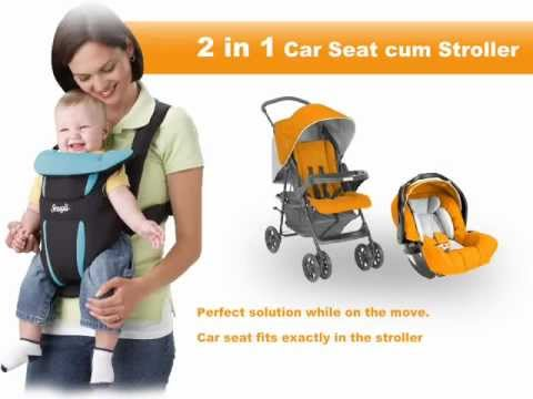 Why is it important to buy car seat for baby in India? - YouTube