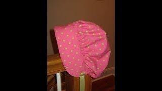 how to Sew Baby Bonnet  Sun Bonnet  diy baby bonnet tutorial  Newborn baby bonnet