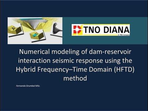 Dam-Reservoir Interaction Simulation of a 220 m height 3D arch-dam model.