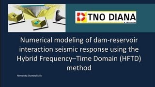 Dam-Reservoir Interaction Simulation of a 220 m height 3D arch-dam model.
