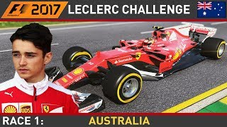 F1 2017 - Make Leclerc World Champion #1 - Australian Grand Prix