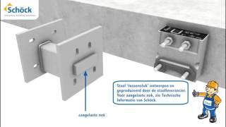 Schöck Isokorf® KS : Thermische bruggen oplossen bij beton-staal aansluitingen