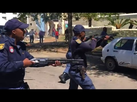 Student protests spread in South Africa