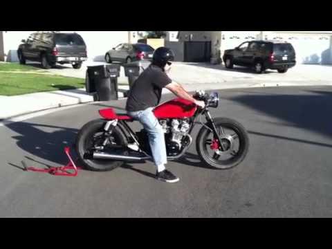 1981 Honda CB750 Cafe Racer - YouTube