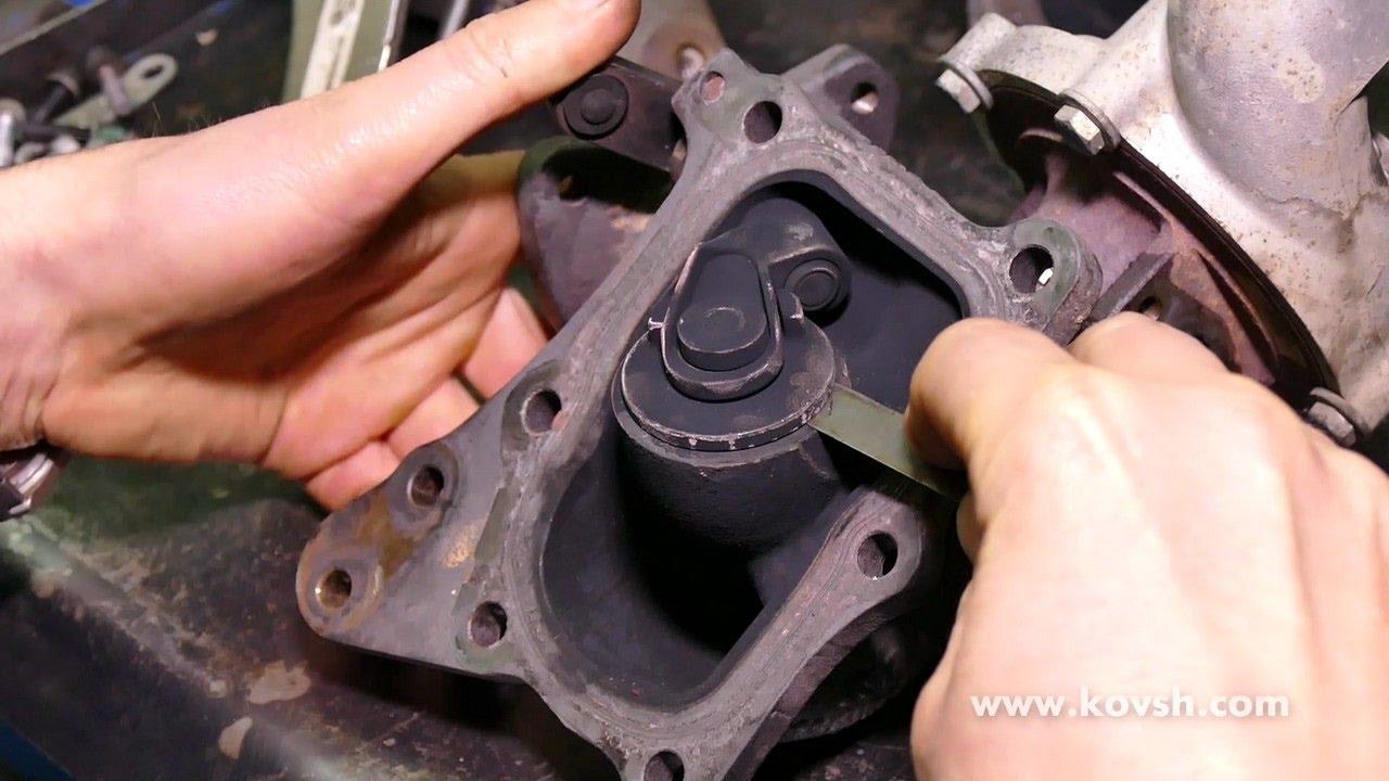 Причина недостаточного наддува мотора Mercedes OM651 (ошибка  P2263)—вестгейт первой турбины
