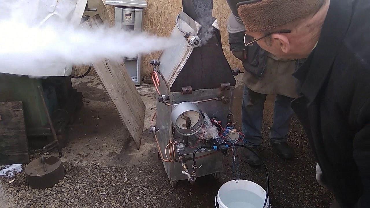 Паровой котел- двигатель