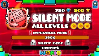 [IMPOSSIBLE LEVELS] All Geometry Dash World Levels in \