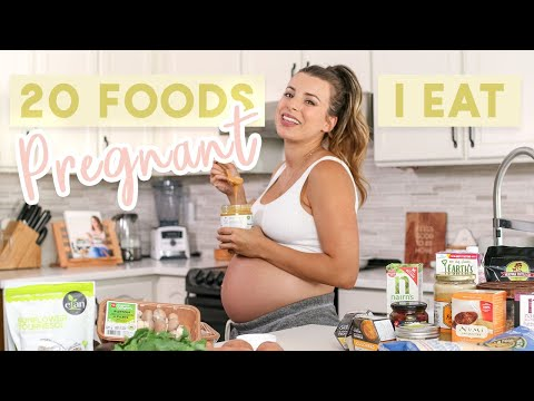 20 Foods I Eat Each Week While Pregnant | Easy & Healthy Meal Ideas!