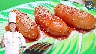 Chuối Nhào Đường ||  Cách làm món chuối ngào đường hết sẩy của tuổi thơ