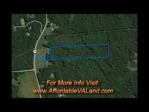 Buy Land Goochland County, Affordable Land near James River