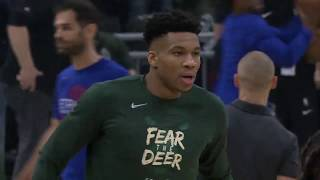 Detroit Pistons vs Milwaukee Bucks | April 17, 2019