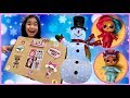LOL Surprise Christmas Present Box Opening | Hairgoals New Products