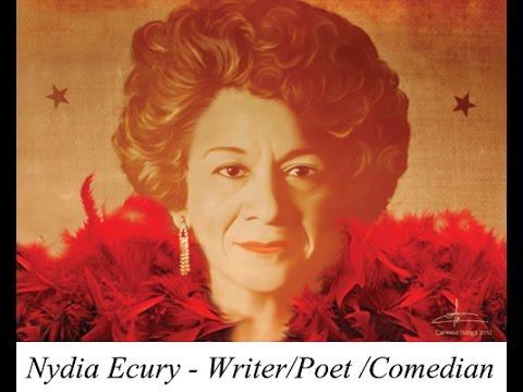 Nydia Ecury Poema di  Introdukshon Luna di Papel 1980