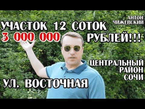🔴🔴Участок Сочи / 12 соток / 3 млн / Восточная ул. Центральный район Сочи / Земля
