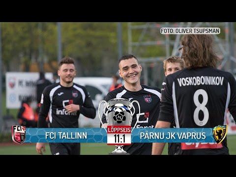 13. voor 2017: FCI Tallinn - Pärnu JK Vaprus 11:1 (3:1)