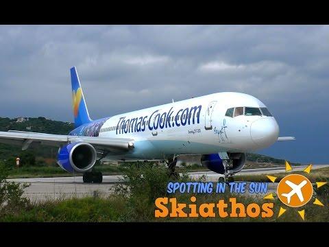 Skiathos - Plane Spotting In The Sun | Day 3 - Friday Frenzy | Crosswind landings + crazy jetblast!