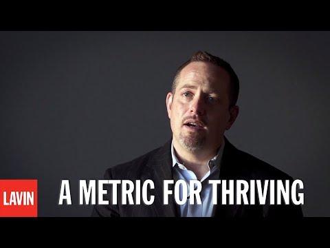 College Speaker Daniel Lerner: A Metric for Thriving