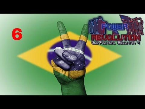 Power and Revolution (Geopolitical Simulator 4) Brazil Part 6 War