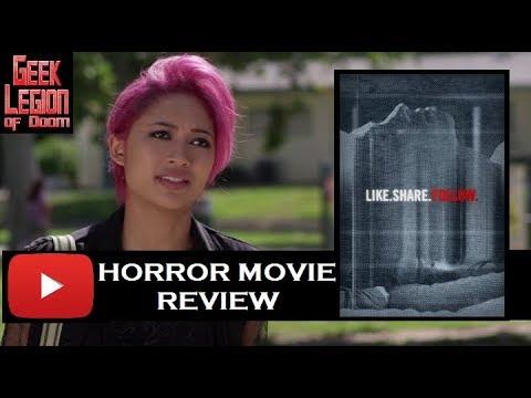 LIKE. SHARE. FOLLOW. ( 2017 Keiynan Lonsdale ) Youtube Stalker Horror Movie Review