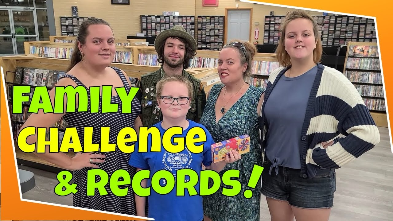 Great Vinyl Records & The Family Bean Boozled Challenge