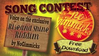 RISE AND SHINE RIDDIM (No Gimmicks Music) Dancehall Reggae 2015 Instrumental