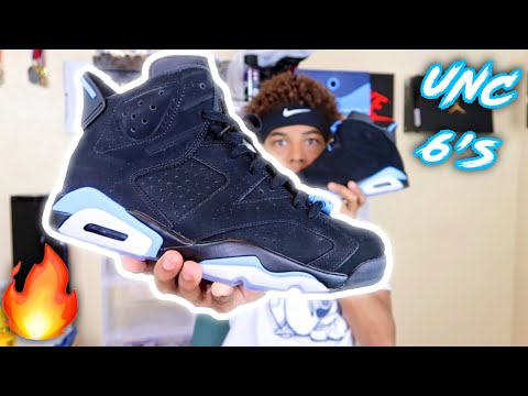 UNC Jordan 6 Detailed Review + On Feet🔥🔥🔥