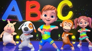 ABC Phonics Song For Children   Learn Colors & Shapes