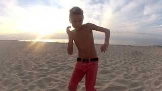 Kaii Liam WInkler & Finn Winkler Dance Tribute To Markus Scott